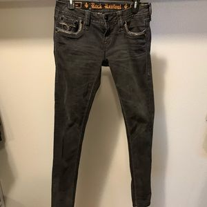 Rock Revival Easy Skinny Claire Jeans sz 27